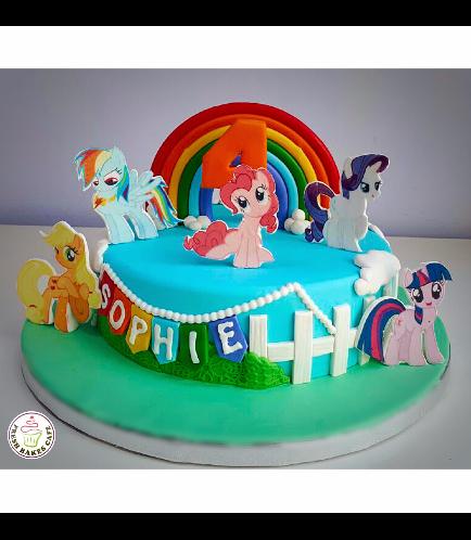 My Little Pony Themed Cake 13