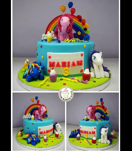 My Little Pony Themed Cake 14