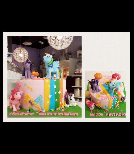 My Little Pony Themed Cake 02