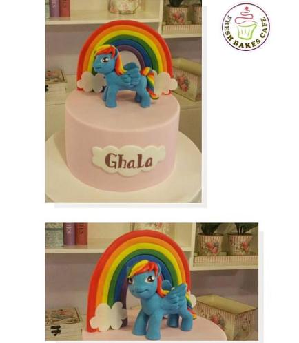 My Little Pony Themed Cake 08