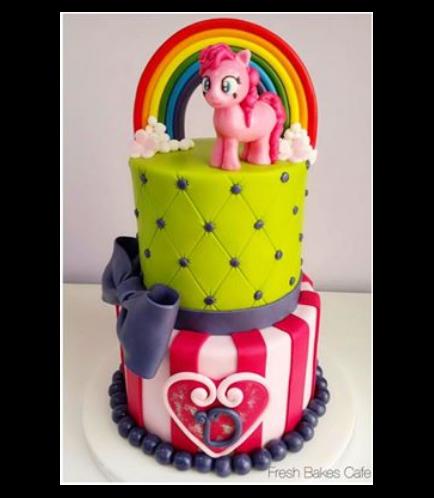 Cake - 3D Cake Topper - 2 Tier 01