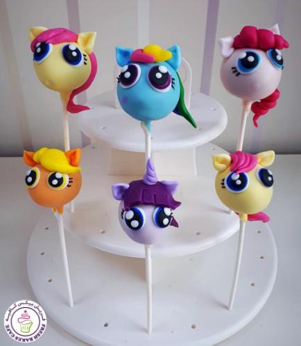 My Little Pony Themed Cake Pops 02a
