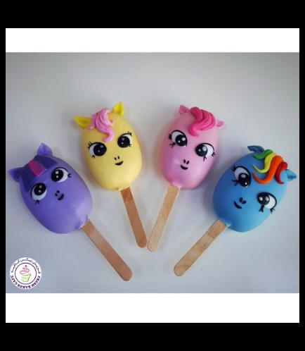 My Little Pony Themed Popsicakes 01