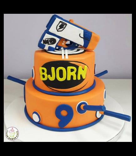 Nerf Gun Themed Cake 02