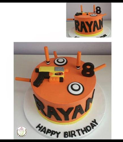 Nerf Gun Themed Cake 03