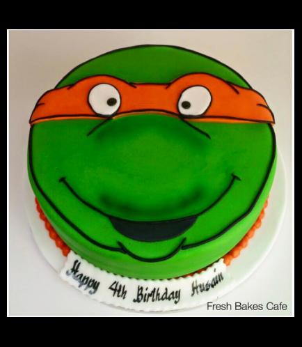 Ninja Turtles Themed Cake 01