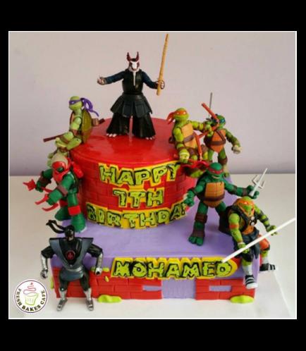 Ninja Turtles Themed Cake 03