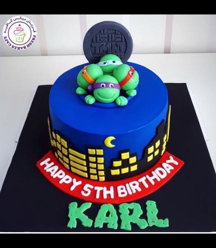 Ninja Turtles Themed Cake 07