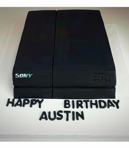 PlayStation Themed Cake 3