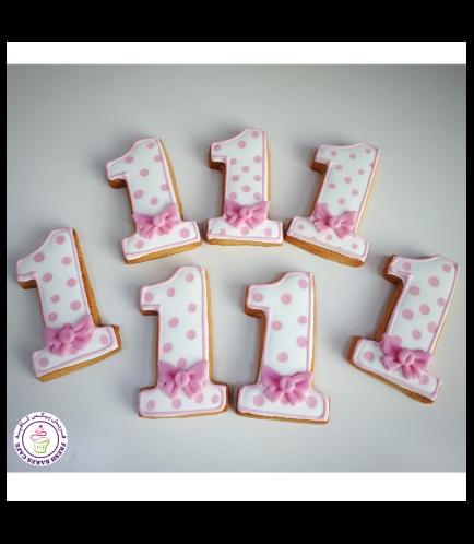 Number 01 Cookies