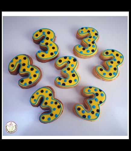 Number 03 Cookies