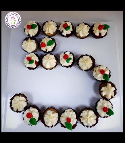 Number 05 Mini Cupcakes 02