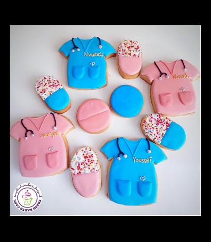 Nurse Themed Cookies 01