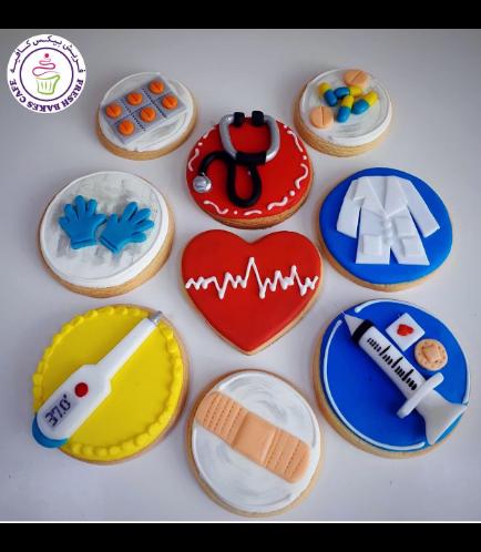 Nurse Themed Cookies 02