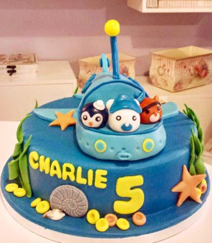 Octonauts Themed Cake 01