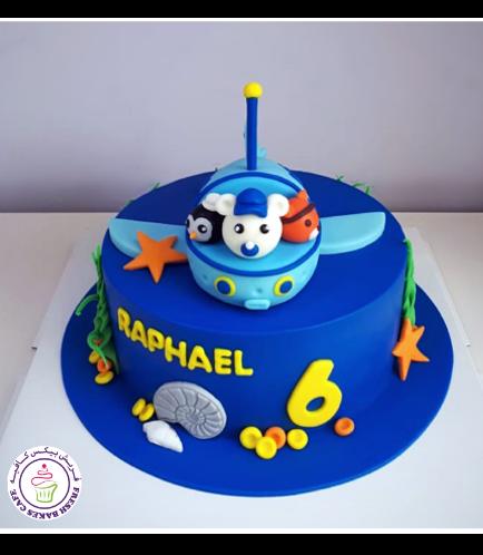 Octonauts Themed Cake 02