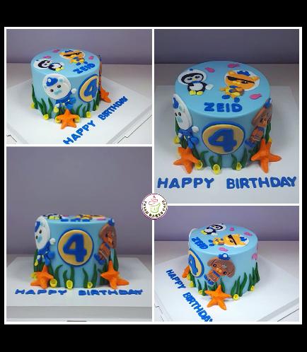 Octonauts Themed Cake 03