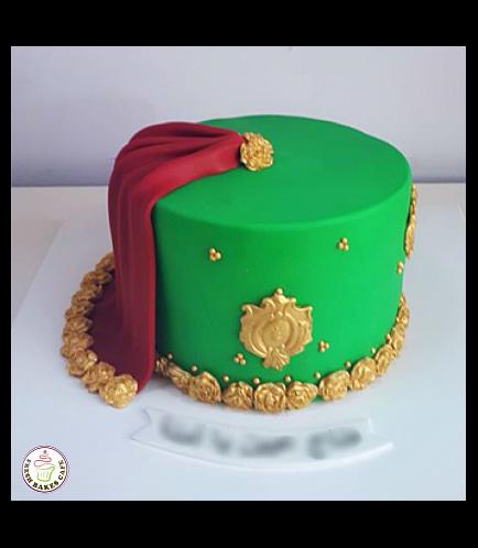 Bridal Shower Themed Cake - Cape