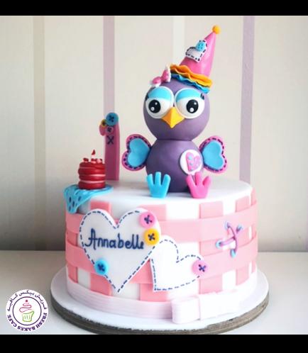 Owl Themed Cake 12