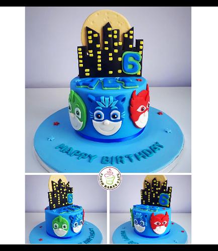 PJ Masks Themed Cake 03