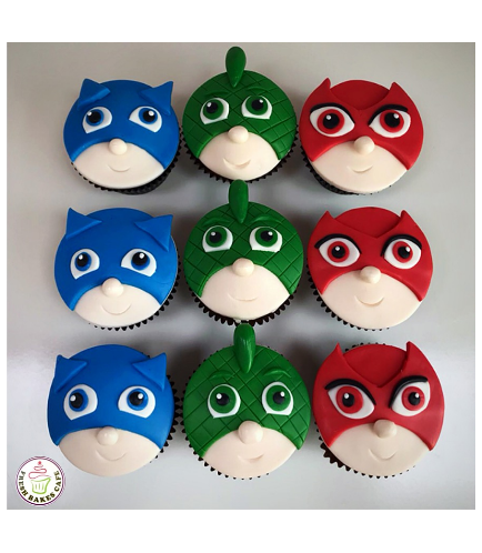 Cupcakes - 2D Fondant Toppers 01