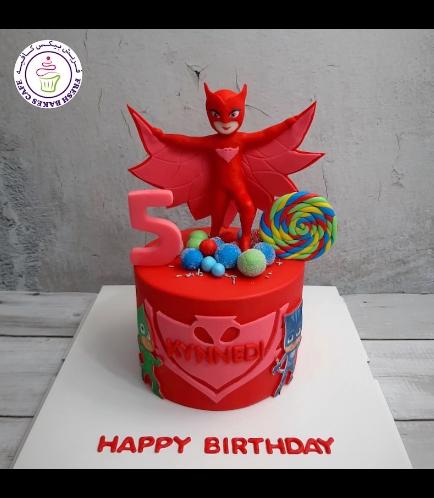 Cake - Owlette - 3D Cake Topper