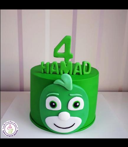 Cake - Gekko - 2D Cake Topper