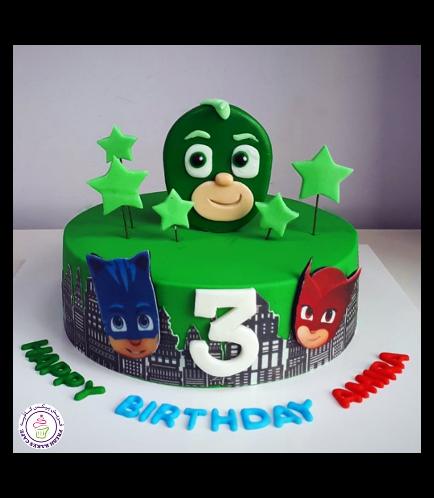 PJ Masks Themed Cake 04
