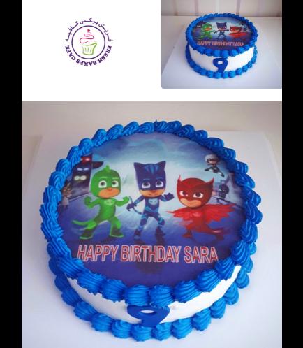 PJ Masks Themed Cake 05
