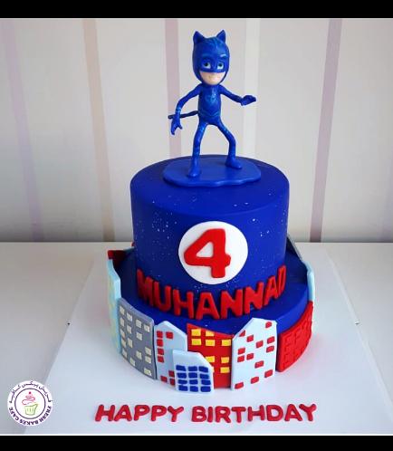 PJ Masks Themed Cake 06
