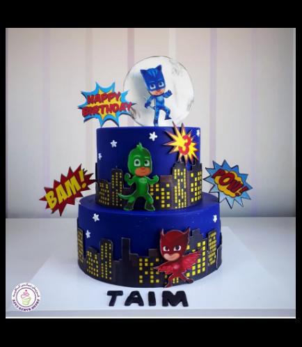PJ Masks themed Cake 07