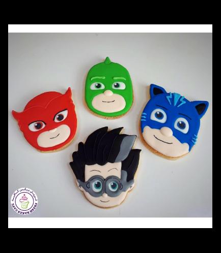 PJ Masks Themed Cookies
