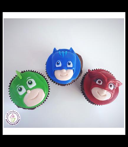 PJ Masks Themed Cupcakes 03