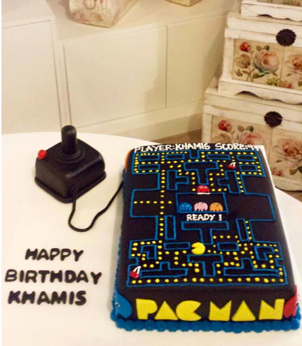 Pac-Man Themed Cake 01