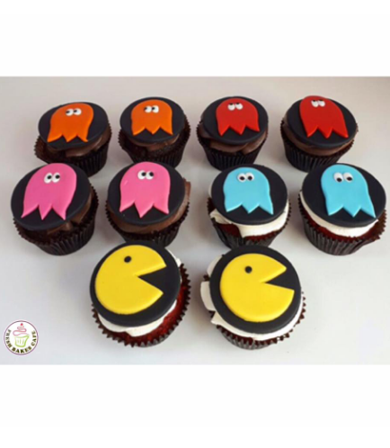 Pac-Man Themed Cupcakes 02