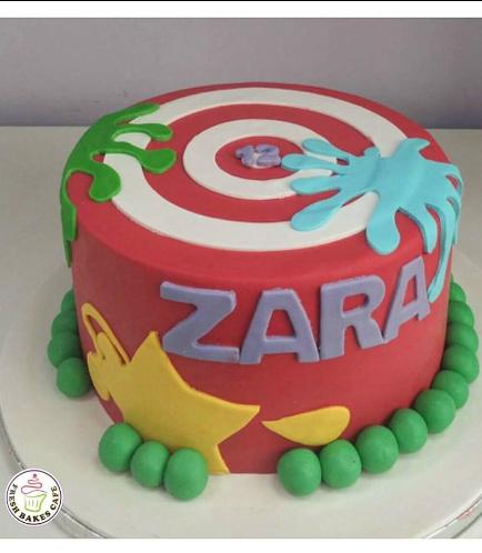 Paintball Themed Cake 04