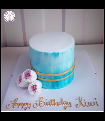 Cake - Flowers - 1 Tier 25