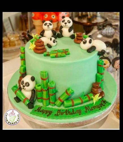 Panda Themed Cake 04