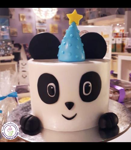 Panda Themed Cake - 2D Cake 01