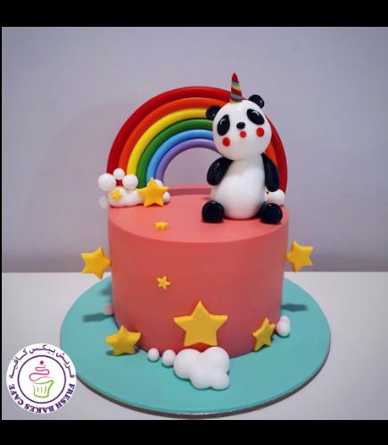 Cake - Panda Unicorn
