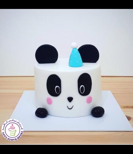Panda Themed Cake - 2D Cake 02