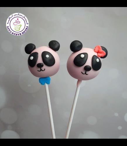 Panda Themed Cake Pops 01