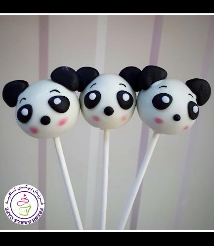 Panda Themed Cake Pops 02