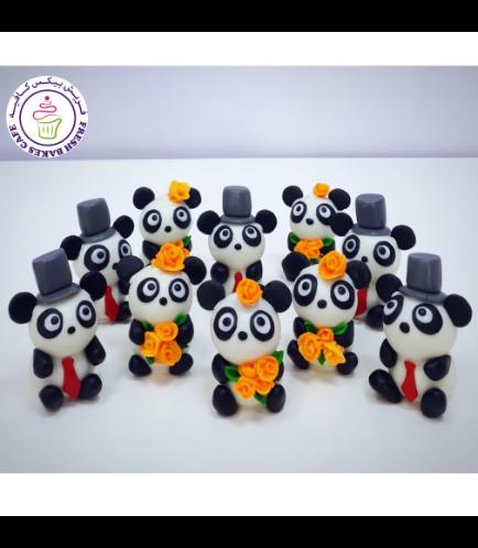 Panda Themed Cake Pops w/o Sticks 02