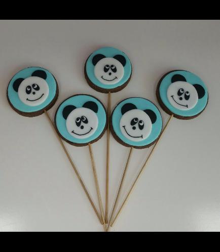 Panda Themed Cookies 01