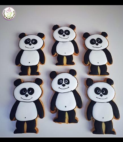 Panda Themed Cookies 03