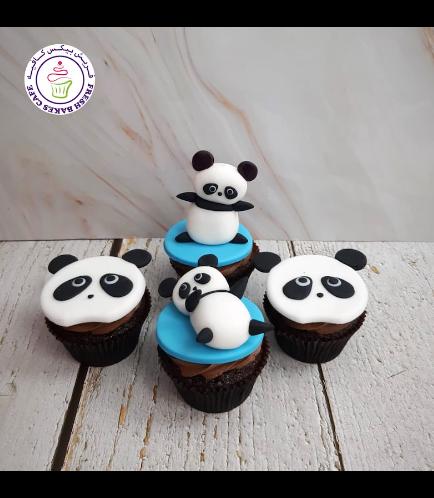 Panda Themed Cupcakes 01