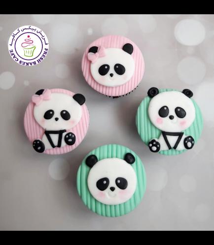 Panda Themed Cupcakes 02