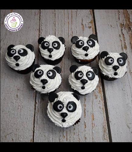 Panda Themed Cupcakes 03