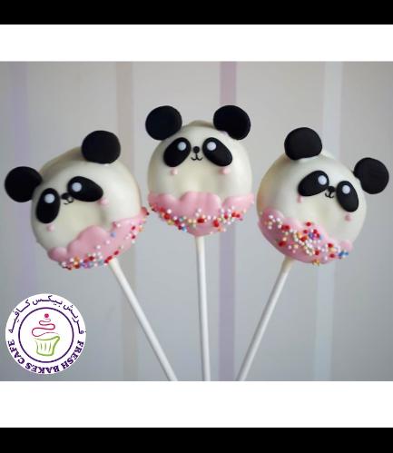 Panda Themed Donut Pops 03